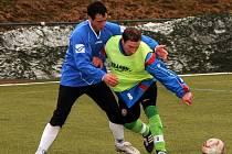 POHODIČKA. Stap Vilémov (v modrém) vyhrál v německém Sebnitz hladce 3:0.