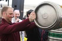 Pivní masopust ve varnsdorfském pivovaru Kocour.