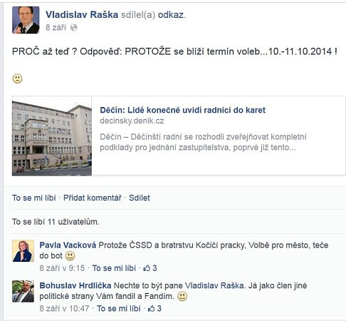 Facebook V. Raška.