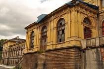 Východní nádraží v Děčíně.