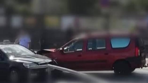 Dopravní nehody v Děčíně.
