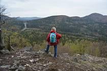 Křížový Buk – Chřibský vrch, zelená, tam a zpět 4 km.