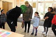 Pohádková cestička ve škole v Boleticích.