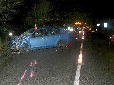 Smrtelná dopravní nehoda na Kamenické ulici vDěčíně.
