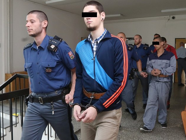 Tresty od tří do čtyř let vězení potrestal ústecký krajský soud čtyři mladíky.