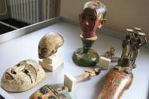 Ukázky z výstavy Egypt - Dar Nilu v děčínském muzeu.