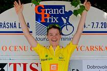 AUSTRALANKA AMY CURE - vítězka Tour de Feminin 2013.