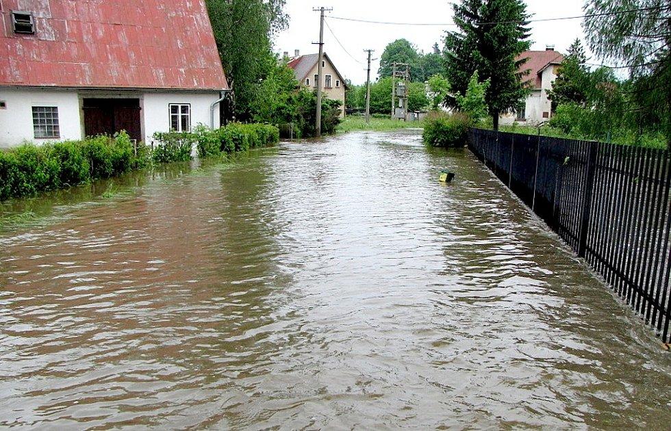 Blesková povodeň v Lipové