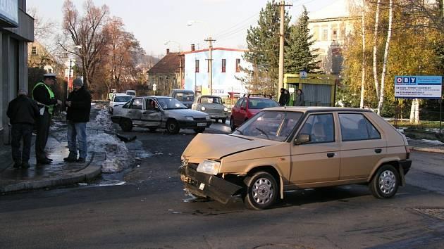 Při nehodě nebyl nikdo zraněn