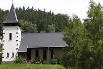 Evangelický kostelík v Dolní Poustevně