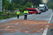 Smrtelná dopravní nehoda v Choraticích.