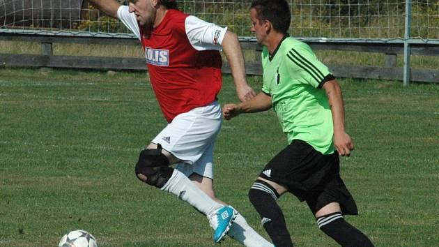 BENEŠOV obrátil utkání v Tisé a poskočil do čela soutěže.
