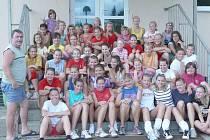 V rámci přípravného období absolvovala vetšina dívek Spartaku letní soustředění.