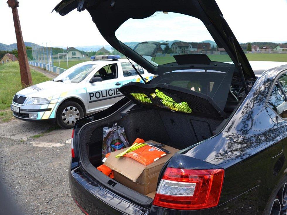 Preventivní projekt Nepozornost zabíjí proběhl v Ludvíkovicích a Jílovém.