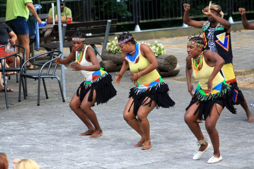 Skupina IYASA ze Zimbabwe vystoupila v pátek v Děčíně.