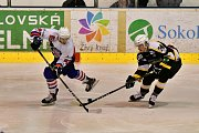 ČTVRTÉ VÍTĚZSTVÍ si na své konto připsali hokejisté Děčína. V Sokolově vyhráli 4:1.