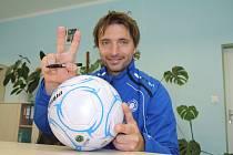 PETR VOŘÍŠEK, mistr Evropy do 21 let, by se na jaře mohl objevit v dresu FK Junior Děčín.