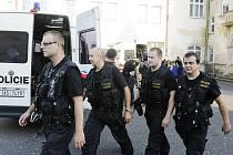 Policejní posily na Šluknovsku