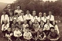 Děti z františkovské školy.