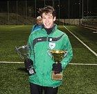 VÍTĚZ. Fotbalisté Vilémova vyhráli turnaj O pohár města Děčína, Skalice skončila druhá.
