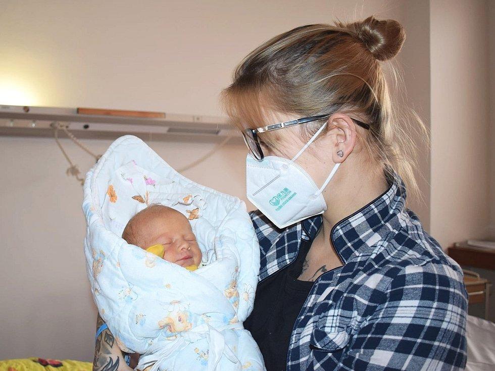 Vladimír Vaněk se narodil Kateřině Zoubkové z Litoměřic 1. ledna v 5.13 hodin v Litoměřicích. Měřil 52 cm a vážil 3,62 kg. Vladimír je prvním miminkem roku 2021 narozeným v Litoměřicích.