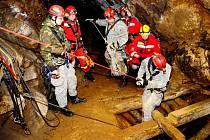 V jednom z důlních útvarů na Šluknovsku proběhlo cvičení zaměřené na záchranu pohřešovaného třináctiletého chlapce.