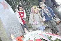 Srbská Kamenice, čtyřicáté výročí zřícení letadla