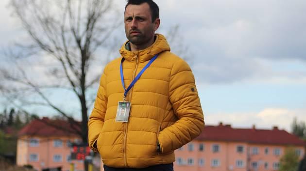DAVID OULEHLA - trenér fotbalistů FK Varnsdorf.