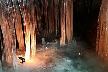 Jeskyně víl ukazuje křehkou krásu.