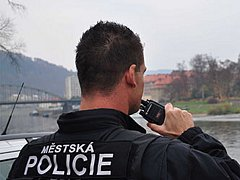 Městská policie Děčín. Ilustrační foto.