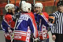BRAVO HOŠI! Děčínstí hokejisté vyhráli v Milevsku 6:1 a mají blízko k semifinále.