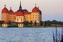 Zámek Moritzburg.