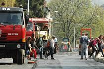 Stroje by z ulice měly zmizet do konce června.