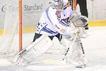 BRANKÁŘ MARTIN VOLKE je hlavní příčinou vzestupu hokejového Děčína.