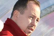 Trenér ústeckých hokejbalistů Jaroslav Pavlík.