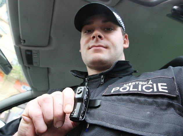 Zákroky děčínských strážníků monitorují kamery
