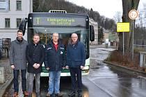 První autobus mezi Sebnitz a Dolní Poustevnou po 104 letech.