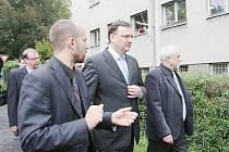 Petr Nečas navštívil Šluknovsko