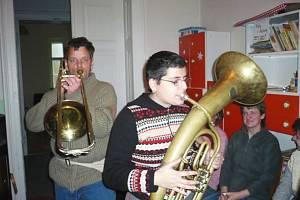 Účastníci hudebního soustředění