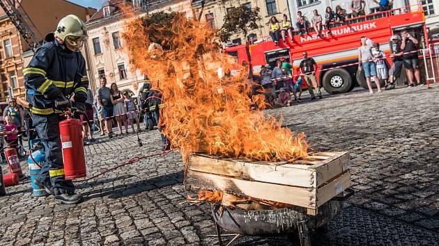 Hasiči z Rumburku slavili 160 let od svého založení.