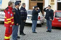 Okresní soutěž hasičských družstev ve vyprošťování zraněných z havarovaných motorových vozidel.