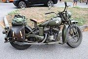 Spanilá jízda motocyklů Böhmerland.