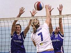 VOLEJBAL - II. liga žen, ilustrační foto.