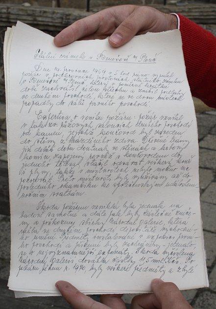 VBenešově nad Ploučnicí našli schránku zroku 1972.
