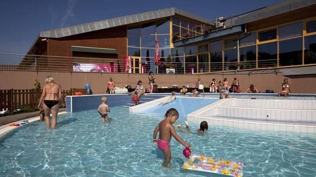 Aquapark Děčín. Ilustrační foto.