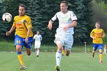 Nedělní zápas FK Varnsdorf proti Karviné.