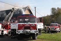 Požár v Lipové