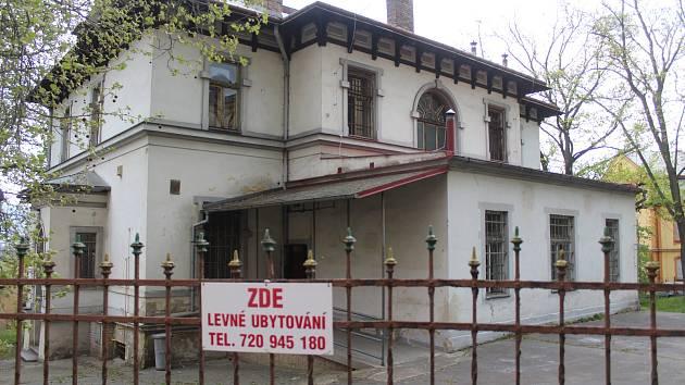 Dům v ulici Jiřího z Poděbrad v Děčíně.