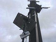 Na Studánce někdo zničil další radar, pravděpodobně opět trhavinou.