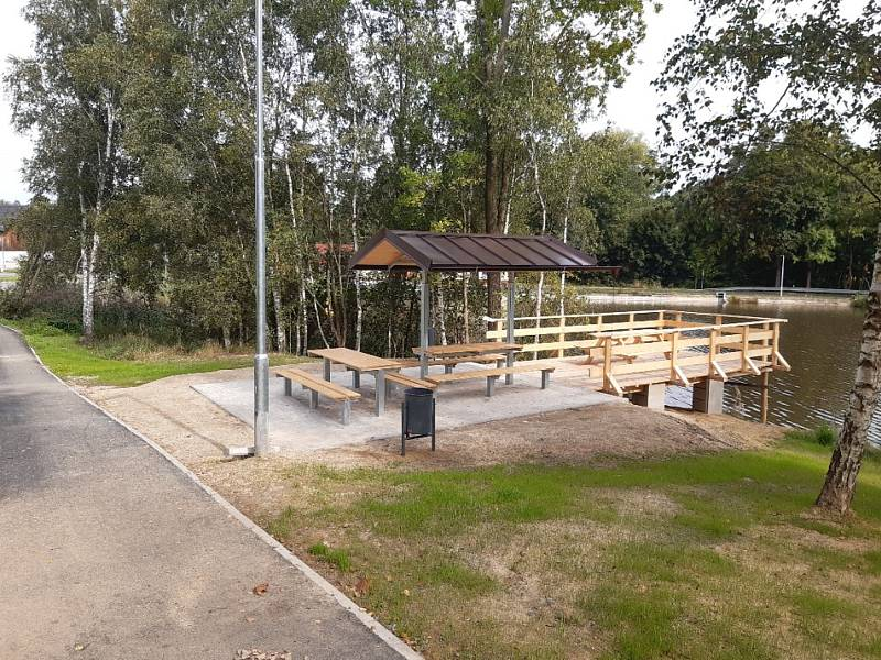 Ve Šluknově vybudovali novou cyklostezku.